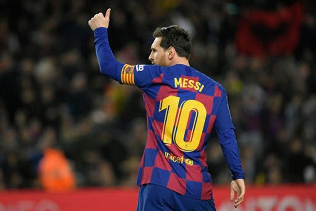Ronaldo gặp lại Messi - Bóng Đá