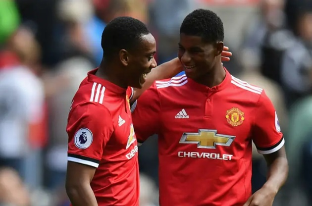 How Edinson Cavani could line up at Man Utd in battle for striker spot with Anthony Martial - Bóng Đá