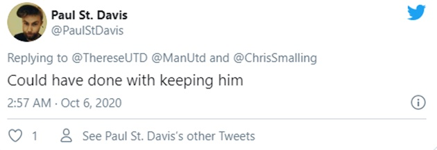 """Better than Maguire"" – Some Man United fans react when Smalling leaves - Bóng Đá"