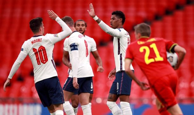 Marcus Rashford matches three Man Utd legends after scoring for England - Bóng Đá