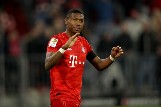 Juventus are in well advanced negotiations with the representatives of David Alaba - Bóng Đá