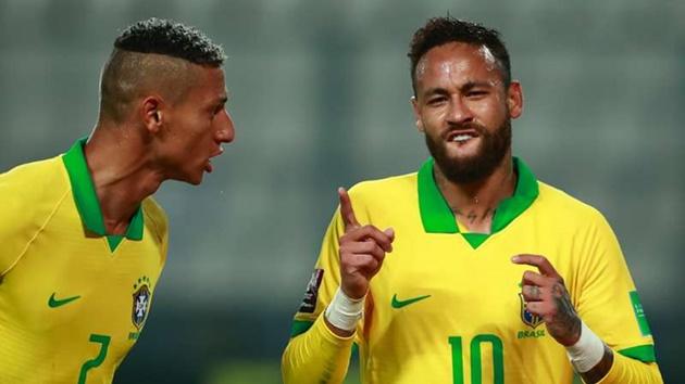 Neymar surpasses Ronaldo as Brazil's second-highest goalscorer - Bóng Đá