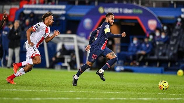 Neymar Recorded a Season-High Nine Key Passes Against Dijon - Bóng Đá