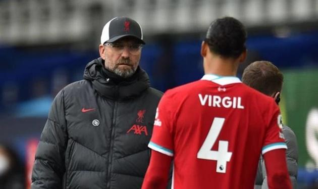 Klopp positive after Van Dijk undergoes knee surgery in London - Bóng Đá