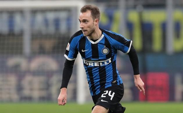Inter Milan 'name Christian Eriksen asking price' - Bóng Đá