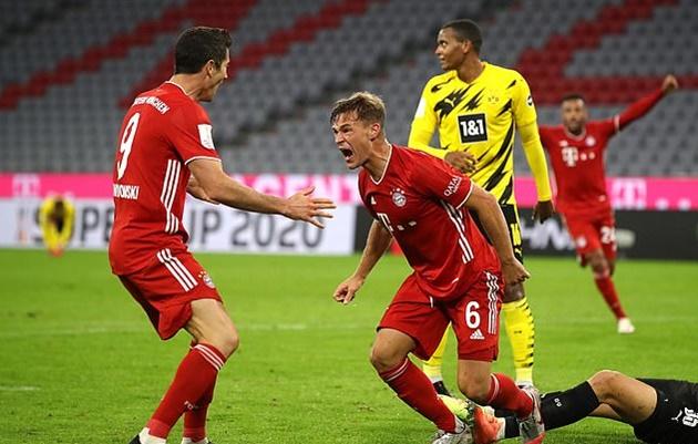 Hans-Joachim Watzke names Joshua Kimmich as the star he'd most like to sign from Bayern. - Bóng Đá