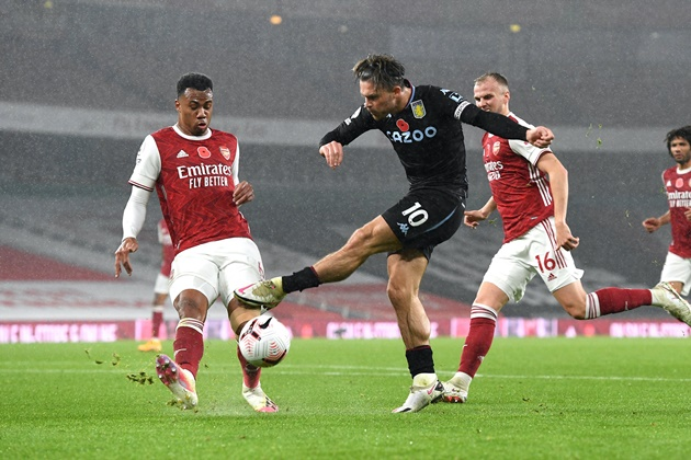 'Grealish could be the future for Arsenal' – Gilberto Silva would support Aston Villa raid - Bóng Đá
