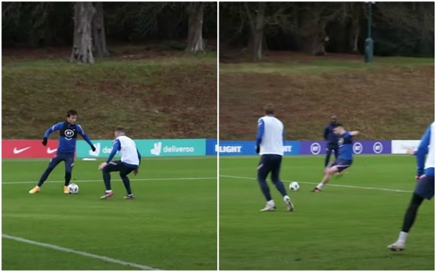 These Chelsea fans react as 'agent' Ben Chilwell assists target Declan Rice in England training - Bóng Đá