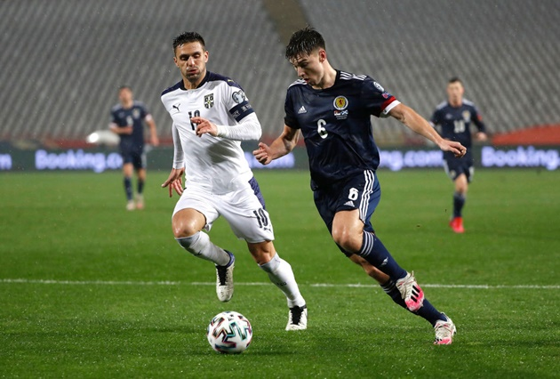 Scotland fans react to Arsenal left-back Kieran Tierney's display - Bóng Đá