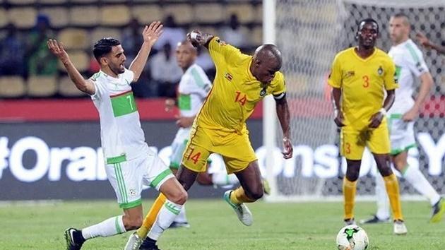 Riyad Mahrez's goal for Algeria today - Bóng Đá