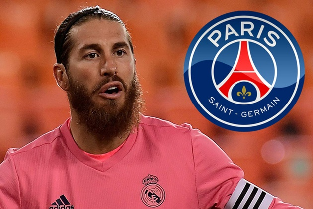 PSG set to offer Sergio Ramos three-year, €20 million/year contract this January - Bóng Đá