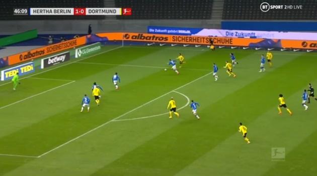 Haaland vs Hertha Berlin - Bóng Đá
