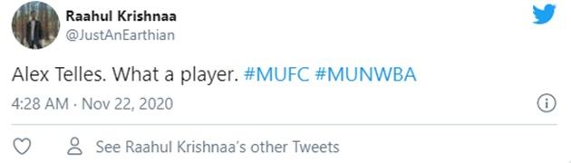 Manchester United fans react to Alex Telles' performance - Bóng Đá