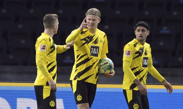 'I'm mad at Favre!' - Haaland wanted to stay on for Dortmund after 'only' scoring four - Bóng Đá