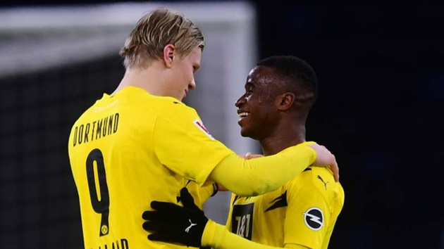 Haaland: Moukoko is the biggest talent in the world right now - Bóng Đá