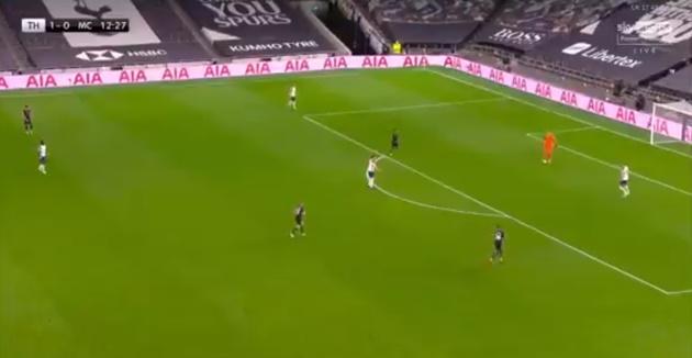 Pha dàn xếp tấn công cực hay của Tottenham trong trận Man City - Bóng Đá