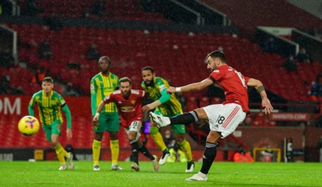 Cách đá penalty của Bruno Fernandes đã bị bắt bài? - Bóng Đá