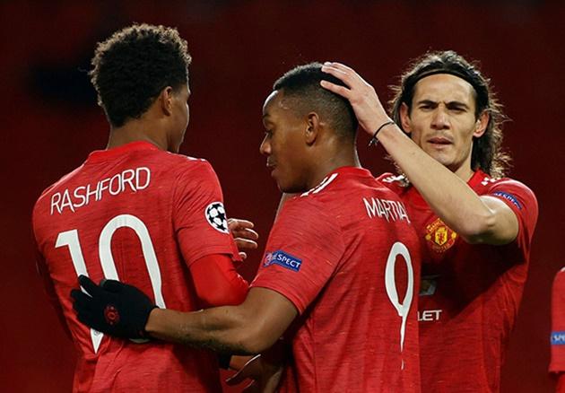 Tại Man Utd, Cavani đang thấy những điều lạ lẫm từ Bruno và Rashford - Bóng Đá