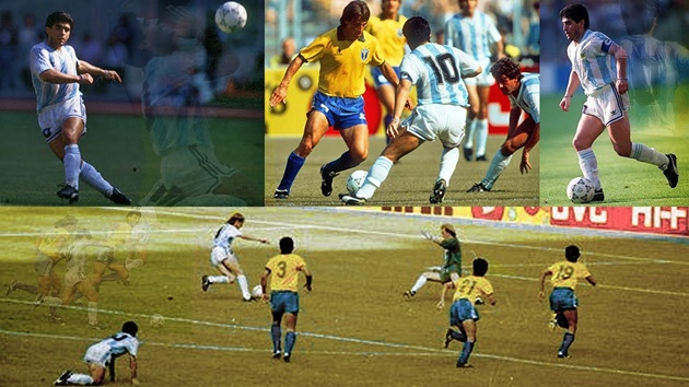 Những khoảnh khắc đáng nhớ của Maradona - Bóng Đá