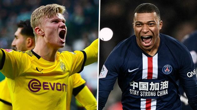 Real Madrid fans prefer Borussia Dortmund star Erling Haaland over PSG star Kylian Mbappe - Bóng Đá