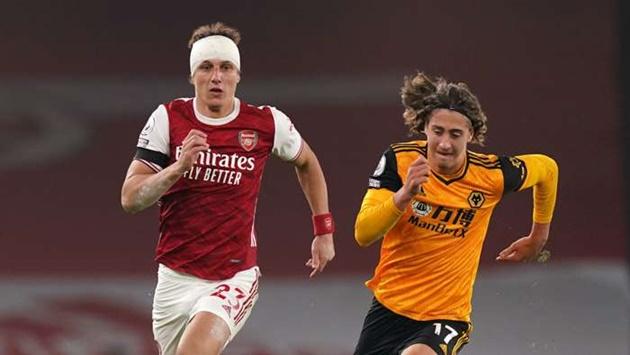 'Luiz was uncomfortable after Jimenez collision' - Arteta explains Arsenal defender's substitution - Bóng Đá