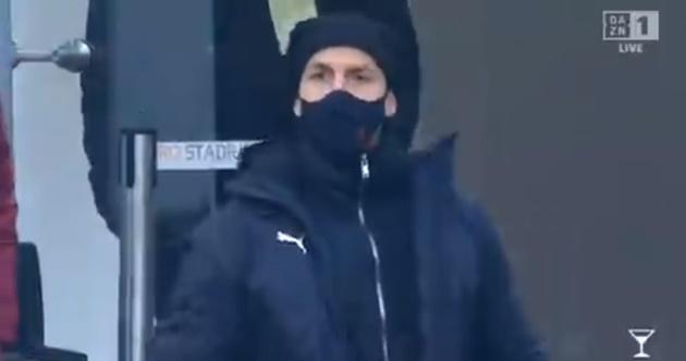 Ibrahimovic unhappy with Romagnoli's choice of celebration after goal  - Bóng Đá