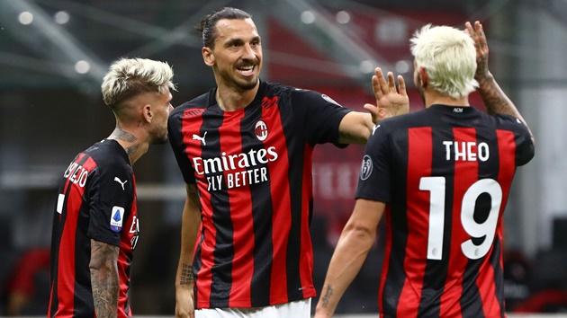 AC Milan của Ibrahimovic đang bay cao.