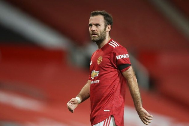 Man Utd star Juan Mata admits 'it's not easy' playing bit-part role under Solskjaer - Bóng Đá