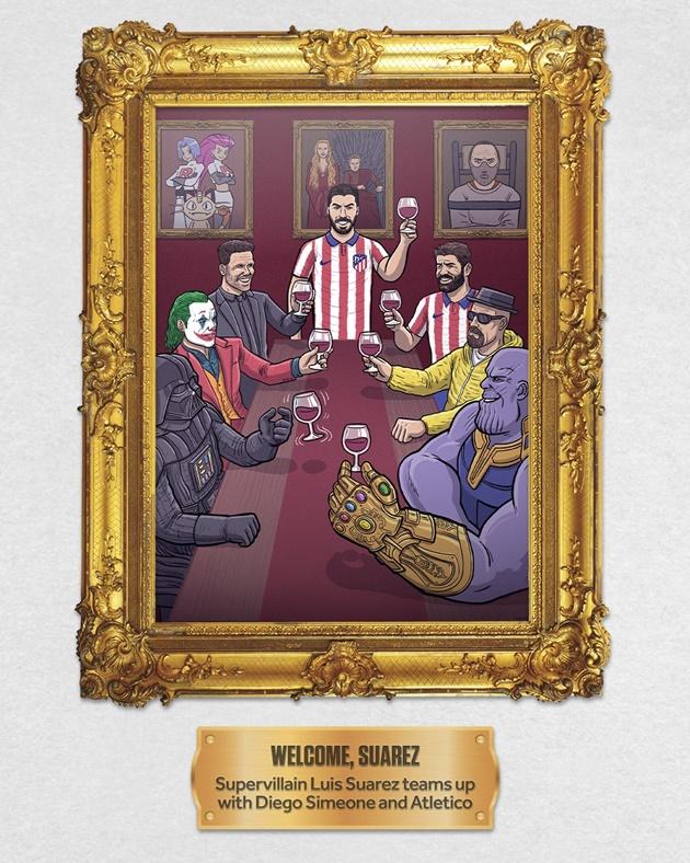 Loạt ảnh hoạt hình đầy hài hước về sự kiện bóng đá đáng chú ý trong tháng 8 - Bóng Đá