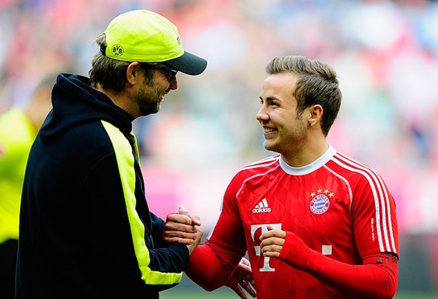 Mario Gotze admits he REGRETS leaving Borussia Dortmund for Pep Guardiola's Bayern Munich - Bóng Đá