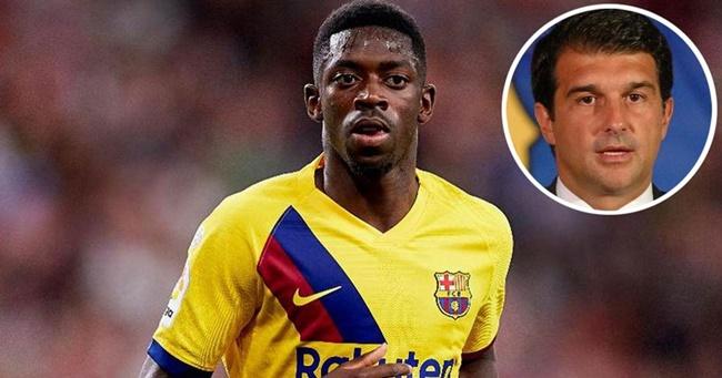 Chủ tịch Barca muốn giữ chân Dembele - Bóng Đá