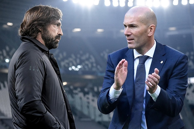 Juventus bất ngờ nhắm Zidane thay thế Pirlo - Bóng Đá