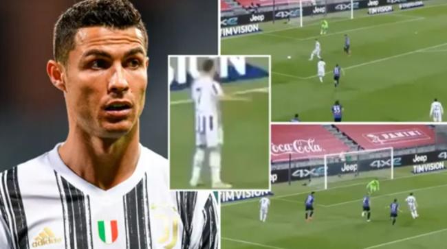 Siêu phẩm kiến tạo của Ronaldo bị đồng đội bỏ lỡ - Bóng Đá
