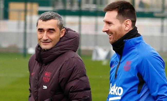 Nói về Messi, Ernesto Valverde đưa ra phát ngôn đầy hài hước - Bóng Đá