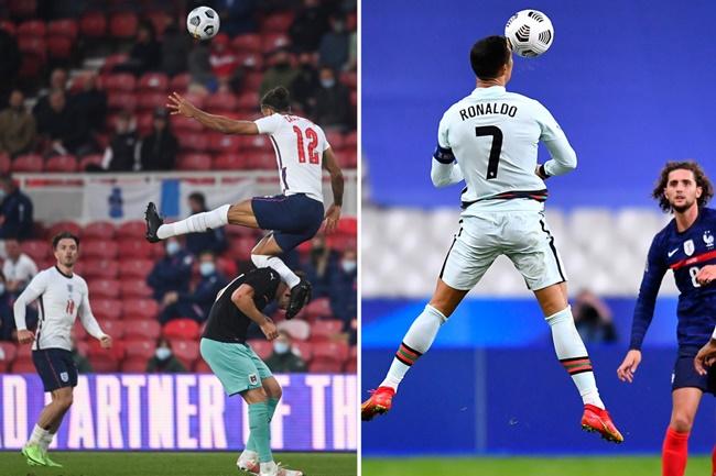 England Fans Blown Away By 'Higher Than Ronaldo' Leap From Dominic Calvert-Lewin - Bóng Đá