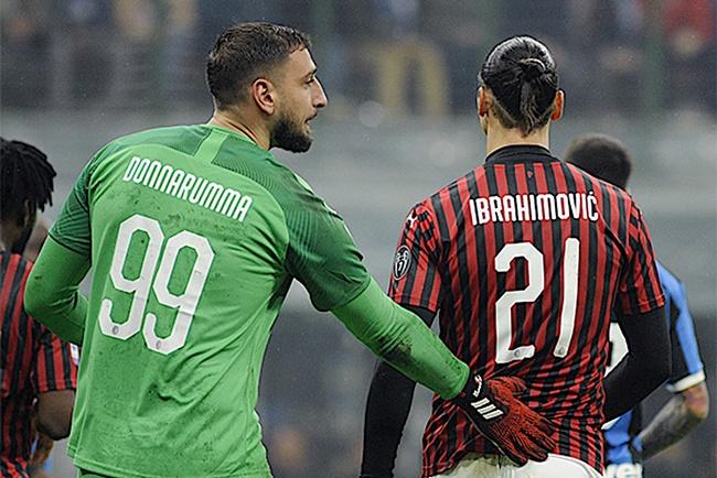Nc247info tổng hợp: Ibrahimovic phá vỡ im lặng về Donnarumma và Giroud