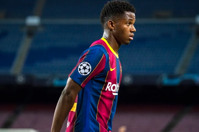 Barcelona's Ansu Fati offers update on recovery from knee surgery - Bóng Đá