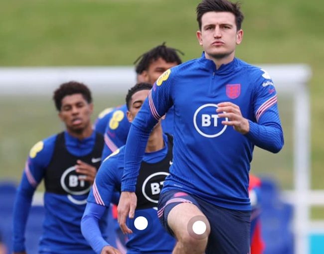 Harry Maguire joined today's training session - Bóng Đá