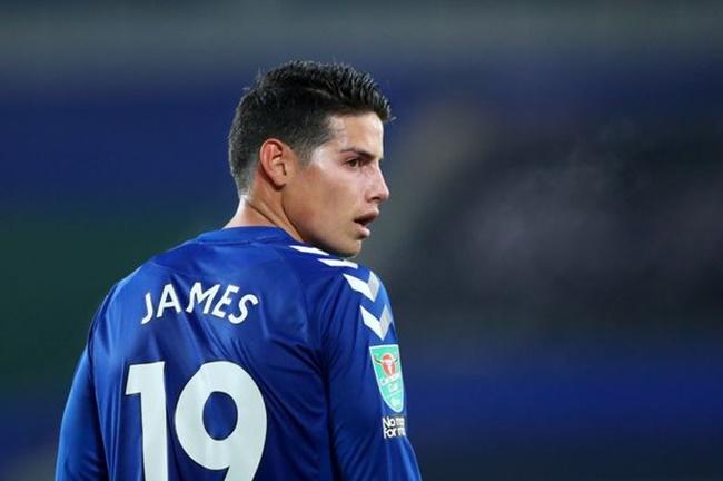 James Rodriguez breaks silence on Everton future after Carlo Ancelotti transfer rumours - Bóng Đá