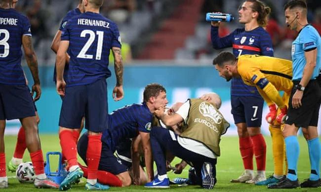 Benjamin Pavard: Uefa asks France why defender played on after concussion in Euro 2020 gam - Bóng Đá