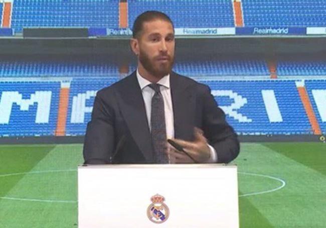 Ramos nói gì trong lễ tri ân - Bóng Đá