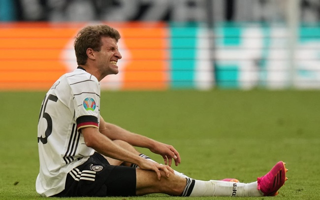 ĐT Đức nguy cơ mất Muller ở lượt trận cuối cùng - Bóng Đá