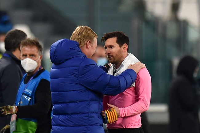 Koeman talks Messi, Aguero, De Jong, Fati, Dembele, Pedri - Bóng Đá