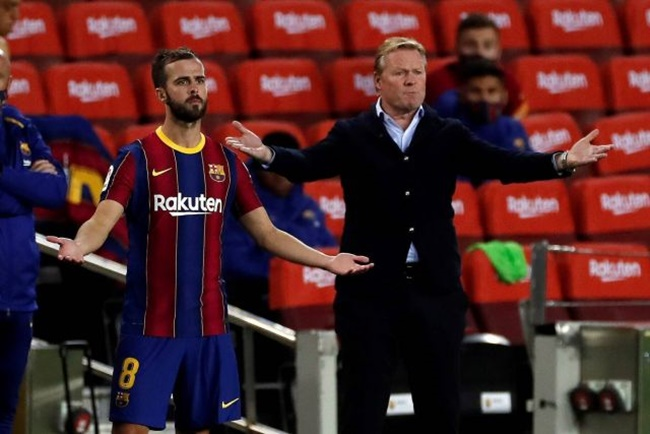 Ronald Koeman responds to Miralem Pjanic's allegations about poor treatment at Barcelona - Bóng Đá