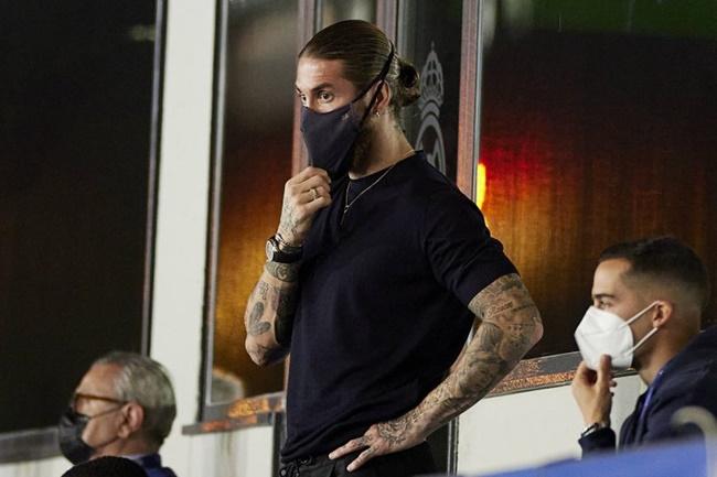 Sergio Ramos sees PSG debut delayed again due to calf injury - Bóng Đá