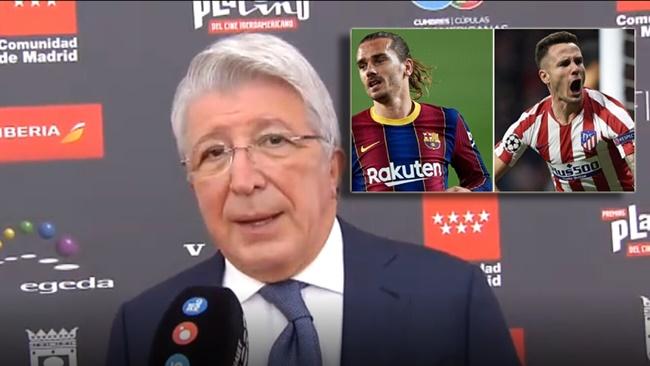 Atletico president Cerezo about Saúl move to Chelsea: - Bóng Đá
