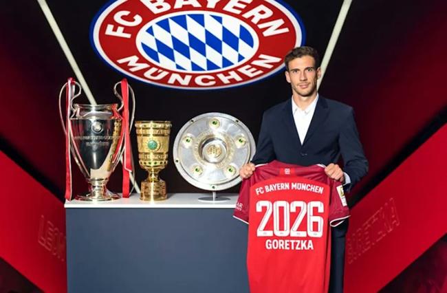 CHÍNH THỨC: Bayern gia hạn với Goretzka - Bóng Đá