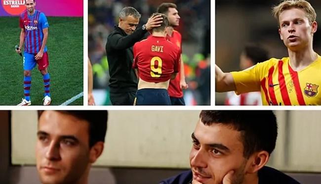 2 bộ mặt của các tiền vệ Barca - Bóng Đá