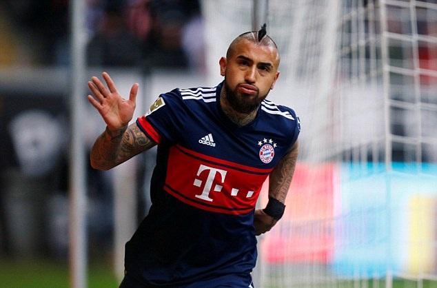 Vidal chói sáng, Bayern hoàn tất tuần thi đấu trong mơ - Bóng Đá