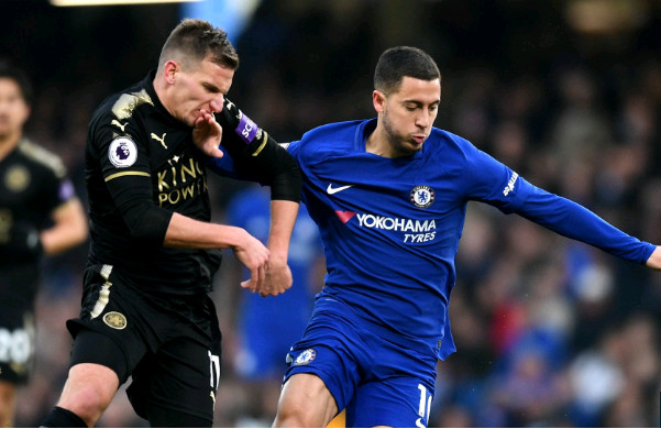 Hoà Leicester, Chelsea có thống kê tệ hại - Bóng Đá